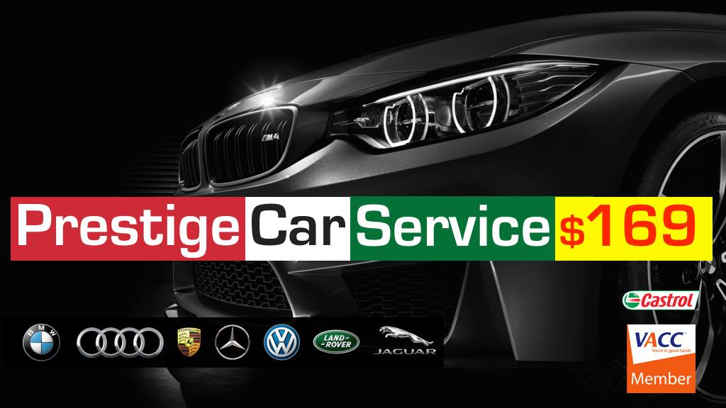 Prestige Car service sunshine north